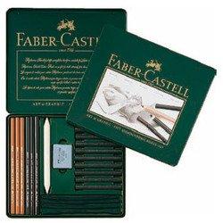 Набор из угля для рисования Faber Castell PITT MONOCHROME