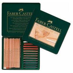 Набор для рисования Faber Castell PITT MONOCHROME и PITT PASTEL