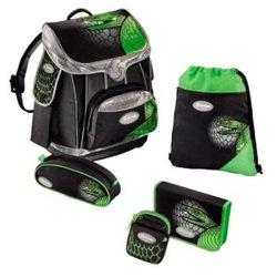 Ранец школьный Green Mamba PREMIUM Sammies by Samsonite (зеленый/черный) с аксессуарами