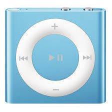 Apple iPod shuffle 4 2Gb (голубой) :::