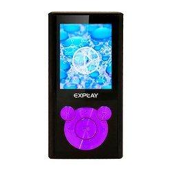Explay C46 4Gb (черный/фиолетовый)