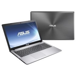 "asus x550ca-xx176d (core i3 3217u 1800 mhz/15.6""/1366x768/4096mb/750gb/dvd-rw/intel hd graphics 4000/wi-fi/bluetooth/dos) (90nb00u2-m02790) (темно-серый)"