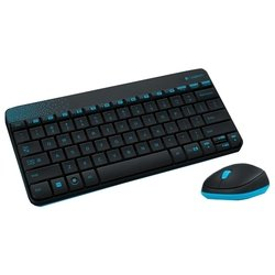 Logitech Wireless Combo MK240 Black USB (черный)