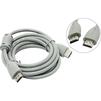 Кабель HDMI (M) - HDMI (M) 2м (Belsis BW1456) (белый) - HDMI кабель, переходникHDMI кабели и переходники<br>Аудио-видео кабель, имеющий ферритовые кольца и версию разъема HDMI 1.3, длина 2м.<br>