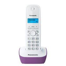Panasonic KX-TG1611RUF (белый/сиреневый)