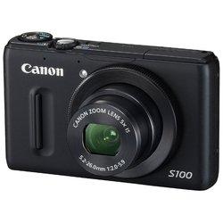 Canon PowerShot S100 (черный)