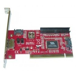 Контроллер PCI SATA/IDE (3+1)port + RAID VIA6421 bulk