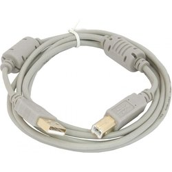 Кабель USB A (m) - USB B (m) 5 м (серый)
