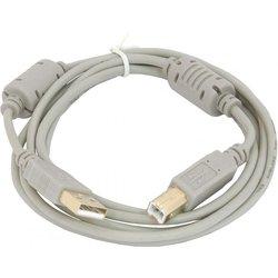 Кабель USB A (m) - USB B (m), GOLD, ферритовый фильтр 3 м