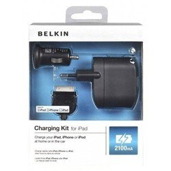 �������� �������� belkin f8z752cw03 2,1a + apple 30-pin cable (������)