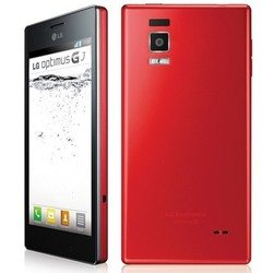 lg optimus gj e975w 16gb red :