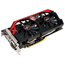 MSI GeForce GTX 780 954Mhz PCI-E 3.0 3072Mb 6008Mhz 384 bit 2xDVI HDMI HDCP RTL