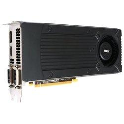 MSI GeForce GTX 760 1006Mhz PCI-E 3.0 2048Mb 6008Mhz 256 bit 2xDVI HDMI HDCP RTL