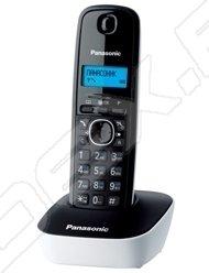 Panasonic KX-TG1611RUW (черно-белый) - Радиотелефон
