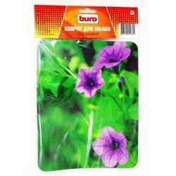 Коврик для мыши (Buro BU-M20012) (Цветы)
