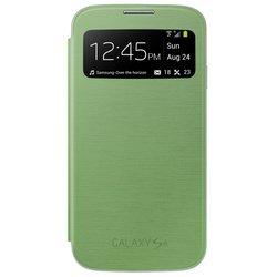 Чехол для Samsung Galaxy S4 i9500 (S-View EF-CI950BGEGRU) (зеленый)