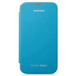 Чехол для Samsung Galaxy Note 2 N7100 (EFC-1J9FBEGSTD) (синий)