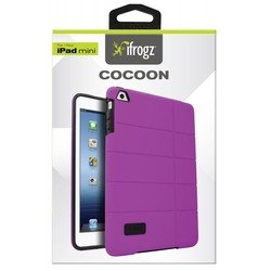 чехол для apple ipad mini (ifrogz cocoon ipmcn-prp) (пурпурный)