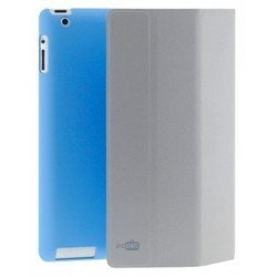 чехол для apple ipad 2, 3, 4 (pc pet pcp-8047bl) (синий)