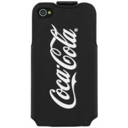чехол для iphone 4, 4s (coca-cola ccflp ip4g4ss1201) (grey bottle 13507)