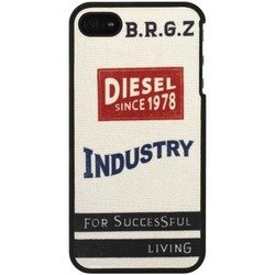 чехол для apple iphone 5, 5s, se (diesel x02070) (industry 13375)