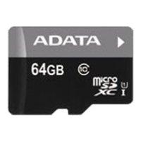 ADATA Premier microSDXC Class 10 UHS-I U1 64GB + SD adapter