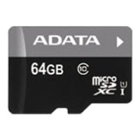 ADATA Premier microSDXC Class 10 UHS-I U1 64GB (без адаптера)