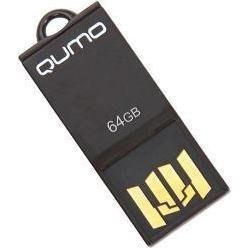 qumo sticker 64gb (черный)