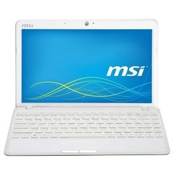 "msi wind u270dx (c-50 1000 mhz/11.6""/1366x768/2048mb/320gb/dvd нет/ati radeon hd 6250m/wi-fi/bluetooth/win 7 hb)"