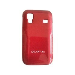 чехол для samsung galaxy ace s5830 (anymode acs-j180rd jelly) (красный)
