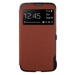 Чехол для Samsung Galaxy Mega 6.3 i9200, i9205 (Anymode F-BSVC000RBR View Case) (коричневый)