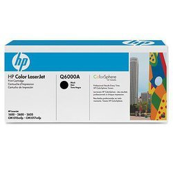 картридж для hp color laserjet 1600, 2600, 2605, cm1015 mfp (q6000a) (черный)