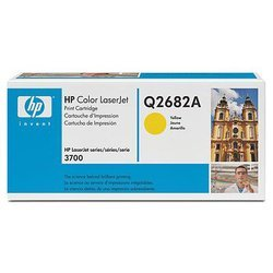 картридж для hp color laserjet 3700 (q2682a) (желтый)