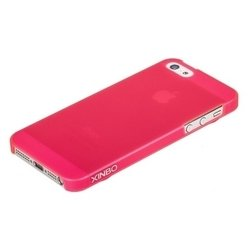 ������, �������������� �����, �������� ��� iphone 5 / 5s (xinbo polycarbonate pink) (�������) + �������� ������ �� �����