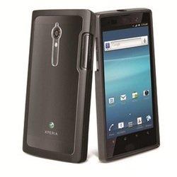 Чехол для Sony Xperia ION LT28i, LT28h (Muvit SEBMC0011 Bimat Case) (прозрачный)