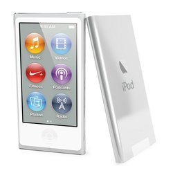 ����� ��� Apple iPod Nano 7 (Muvit MUCRY0015 Clear Back) (����������) + �������� ������