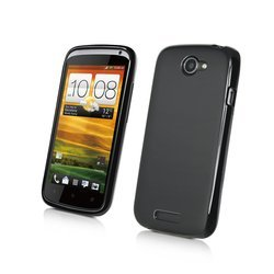 чехол для htc one s (muvit muski0064 minigel) (черный)