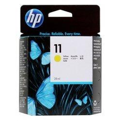Картридж для HP Designjet 110, 111 (C4838A №11) (желтый)