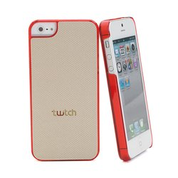 чехол для apple iphone 5 (twitch mutwcip502 back cover) (бежевый)