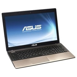 "asus k55a (core i3 3110m 2400 mhz/15.6""/1366x768/4096mb/320gb/dvd-rw/wi-fi/bluetooth/win 7 hb 64)"