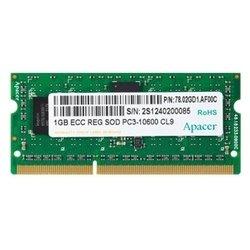 Apacer DDR3 1333 Registered ECC SO-DIMM 1Gb