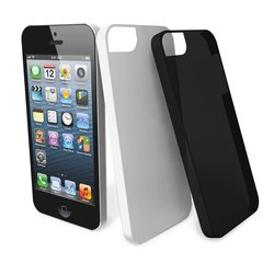 ����� ��� apple iphone 5 (muvit mubkc0553 ultra thin case) (����� � ������) (2 ��.)