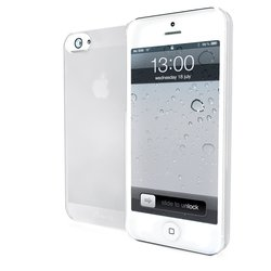 чехол для apple iphone 5 (muvit mubkc0594 imatt) (белый)