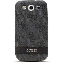 чехол для samsung galaxy s3 i9300 (guess gus34ggr hard case) (серый)