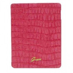 чехол для apple ipad 3 new (guess gufcnpcmpi folio case croco) (розовый)
