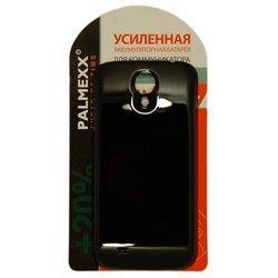 Аккумулятор для Samsung i9500 Galaxy S4 (Увеличенной, повышенной емкости 6000mAh + задняя крышка PALMEXX PX/EXSAMI9500 Черная)