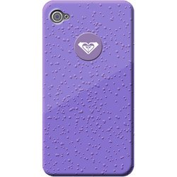 чехол для apple iphone 5 (roxy rain drop cover roxyjazzcovip6) (фиолетовый)