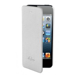 чехол для apple iphone 5 (lazarr frame case) (белый)