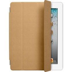 Чехол для iPad 2 / iPad 3 new / iPad 4 Smart Cover - Leather (MD302ZM/A) (кожаный, светло-коричневый)