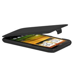 чехол для htc one x (lazarr protective case) (черный)